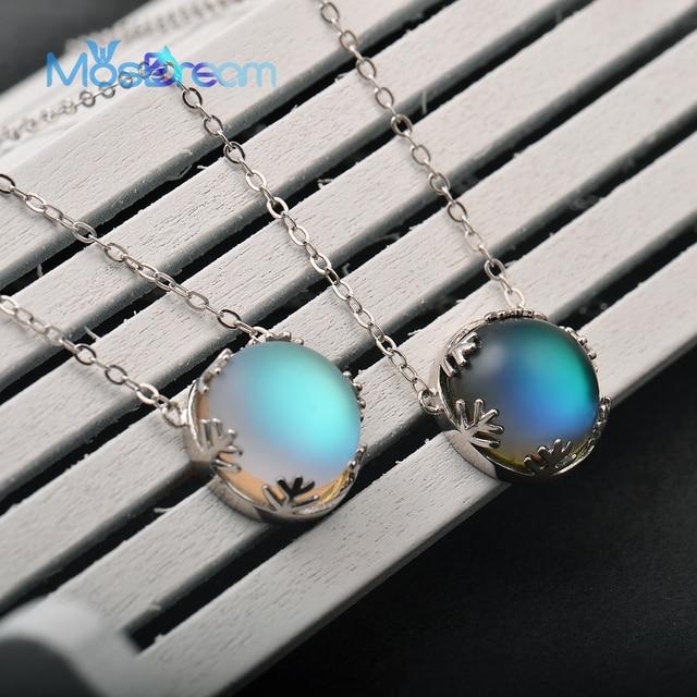 MosDream Ladies Fashion Aurora Borealis Necklace 5