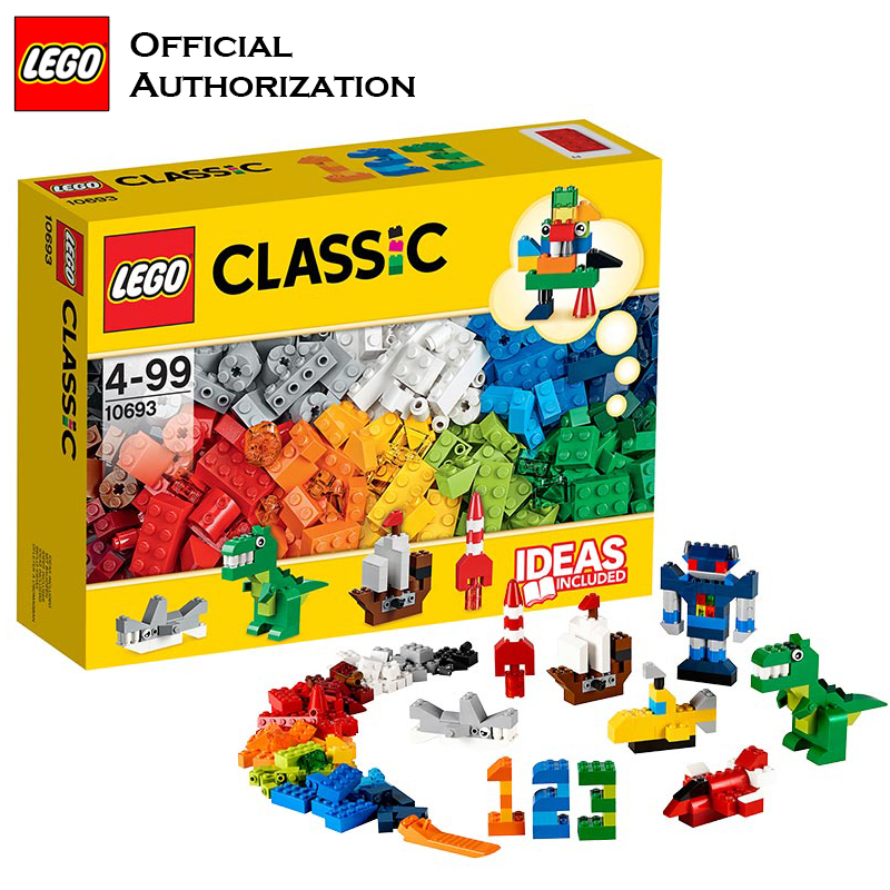 LEGO Classic 221pcs 10692 Creative Brick Yellow Box Set Lego Korea