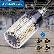 Bombilla de mazorca de maíz E14, lámparas LED E27, 220V B22, alta potencia 28 40 72 108 132 156 189, luces Led SMD 5736, lámpara LED 110V sin parpadeo 85 265V