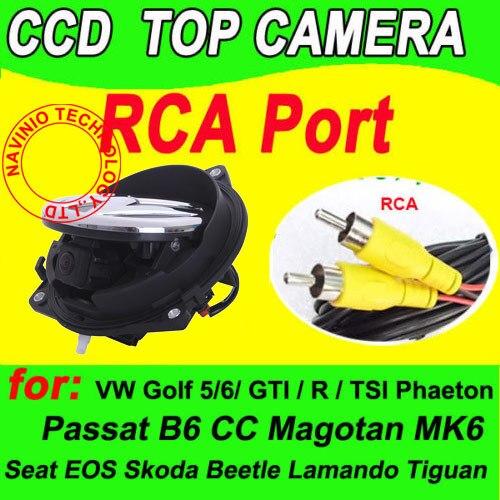 CCD OEM Эмблема Логотип Заднего вида Авто Флип Реверсивный Багажнике Автомобиля Ручка Камеры для VW Golf 4 5 6 7 8 GTI R Водонепроницаемый Ночного Видения