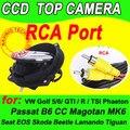CCD OEM Emblema Logotipo Auto Retrovisor Virar Invertendo Carro Câmera Pega Tronco para VW Golf 4 5 6 7 8 GTI R Visão Noturna À Prova D' Água