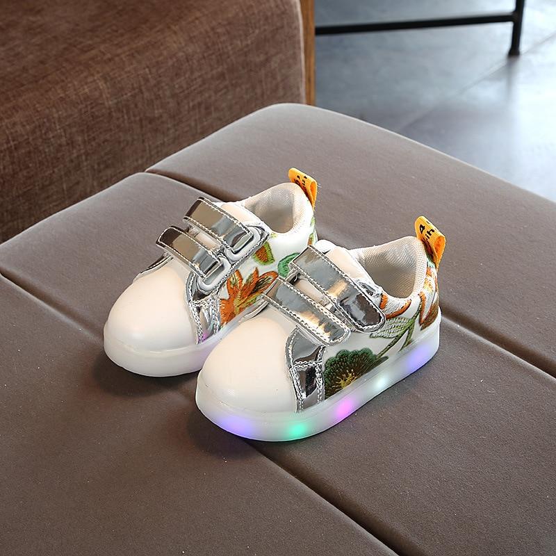 Boy & girl Led Children Shoes Luminous sneakers dla dziewcząt i - Obuwie dziecięce - Zdjęcie 1