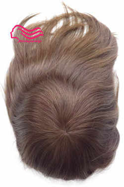 Top quality , 100% Euopean virgin hair Injection poly skin stock hair replacement , hair system ,   men toupee free shipping