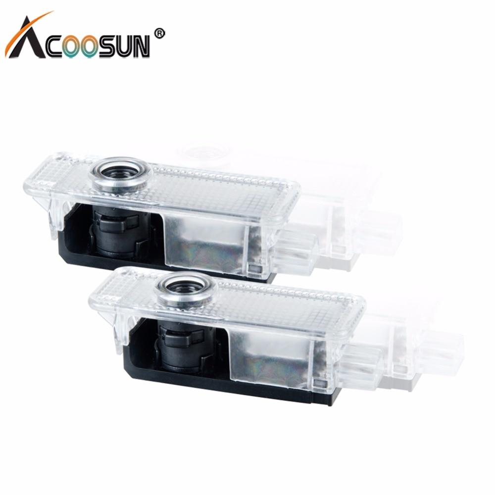 AcooSun <font><b>LED</b></font> Car Styling Welcome Light 12V Auto <font><b>LED</b></font> <font><b>Voiture</b></font> Logo Light Projector Shadow Lamp For BMW Mini e46 e60 e90 e36 f10 f30