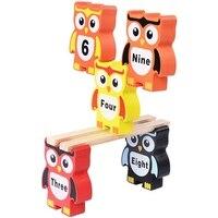 아기 되었답니다 나무 세트 장난감 다양한 올빼미 했답니다 높은 균형 나무 몬테소리 개발 장난감 퍼즐