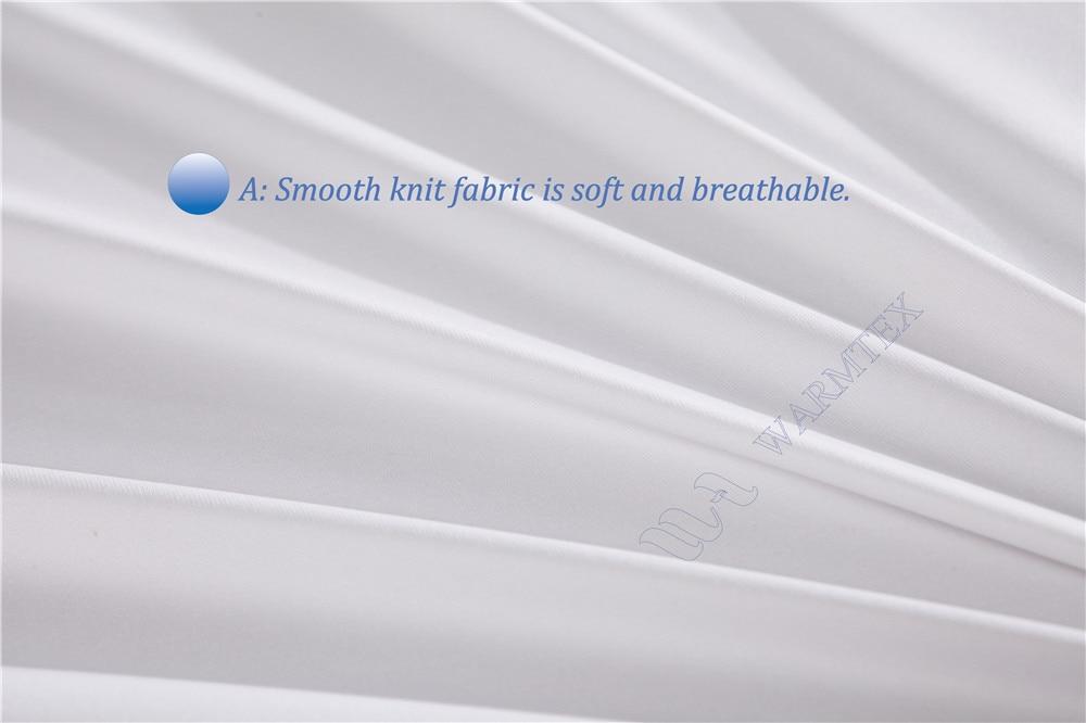 180x200cm waterproof Smooth knit cloth Mattress Cover Mattress Protector 100% Waterproof of TPU A