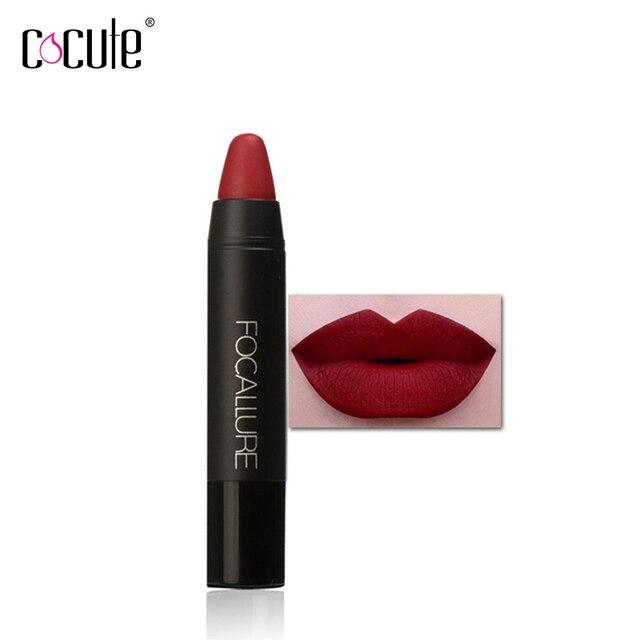 1 Pc rouge à lèvres mat imperméable magique rouge à lèvres bâton longue durée maquillage Nude brillant à lèvres 24 couleurs disponibles lèvres cosmétique