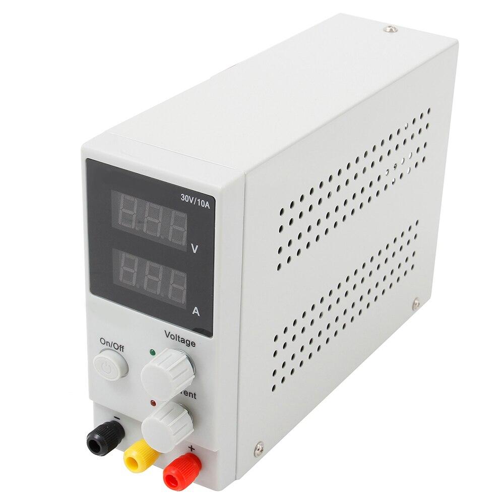 Nouveau 30 v 10A LED Affichage Réglable Régulateur de Commutation DC Alimentation Ordinateur Portable De Réparation de Reprise 110 v-220 v