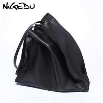 Designer women handbag Large capacity Black shopping bags Quality PU leather Women's big Totes Casual female Shoulder bags bolsa - DISCOUNT ITEM  35% OFF All Category