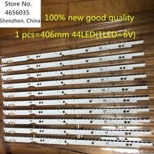 Nova 6V tira Retroiluminação LED lâmpada Para 2012svs32 7032nnb 2D V1GE 320SM0 R1 44 32NNB 7032LED MCPCB UA32ES5500 UE32ES6557 UE32ES6307