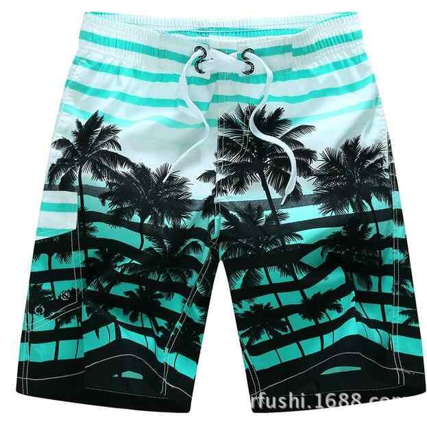 2018 Summer Hot Men Beach Shorts Quick Dry Printing Board Shorts Men Bermuda Masculina Plus Size 3xl men swimsuit wholesale