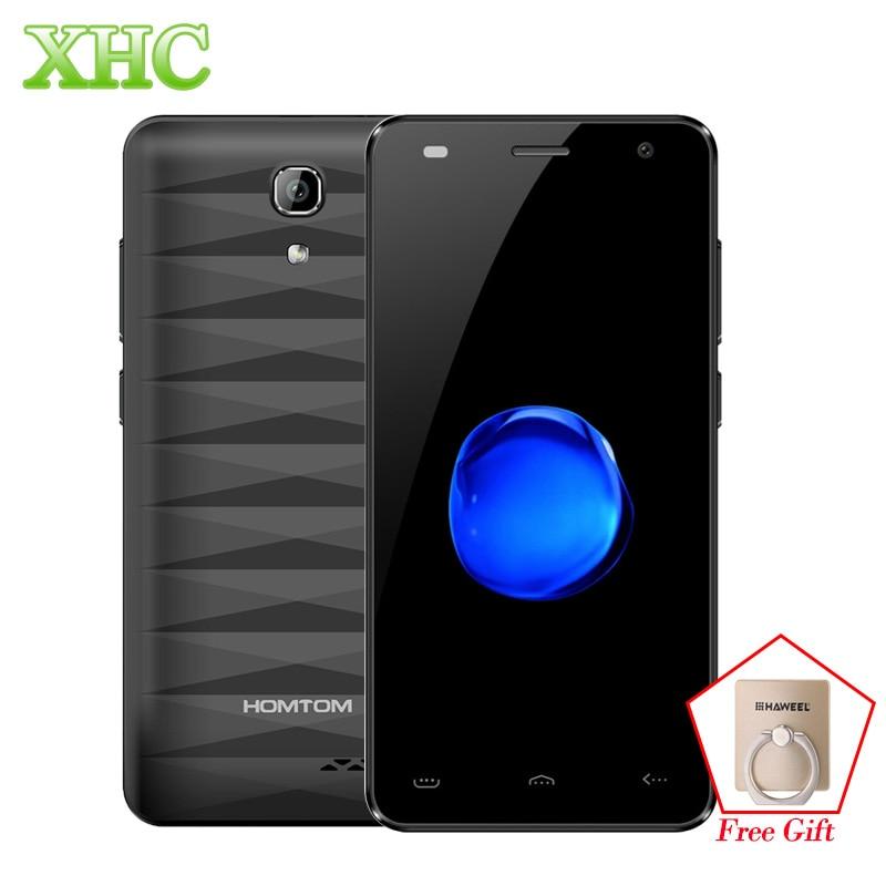 4G HOMTOM HT26 Cellphones RAM 1GB ROM 8GB 4.5 inch Android 7.0 Smartphone MTK6737 Quad Core 1.3GHz Dual SIM OTA Mobile Phones