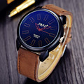Brand SBAO Casual Big Dial Quartz Watch Men Sport Watches Leather Analog Clock Male Army Military WristWatch Relogio Masculino