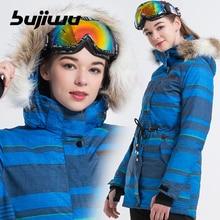 Winter Ski jacket Women Brands 2019 High Quality Ski Jacket Snow Warm Waterproof Windproof Skiing And Snowboarding jacket 2016 womens color matching ski jacket blue pink gray snowboarding jackets skiing jacket for women anorak skiwear 10k xs l