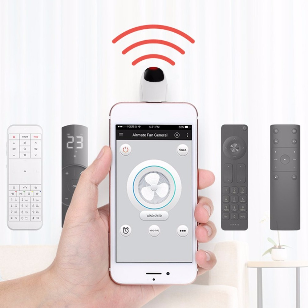 Infrared Remote Control Extender Smartphone Universal RC Micro USB for Android for TV STB Air Conditioner Fans Projector
