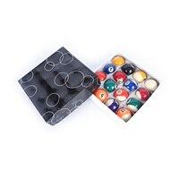 1Set New Sale 38mm Practice pool balls full set resin Billiard Training ball Table Balls Cue ball for kids children
