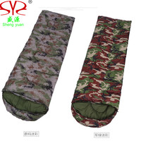 Camouflage Sleeping Bag Outdoor Mountaineering Camping Sleeping Bags Thick Warm Autumn Winter Hiking Camping Adult Sleeping Bag