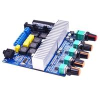 2019 Digital Power Amplifiers Module TPA3116 DC 12 21V 2.1 Sound Channel 50Wx2+100W For Bluetooth Amplifier Board