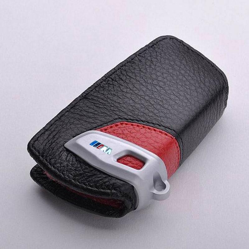 Genuine Leather Key Cover Case For BMW F30 F31 F10 F20 X5 M F25 F31 X4 1 5 4 7 Series For Bmw F31 Car Accessories Key Cover Case цена и фото