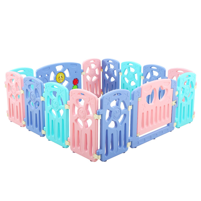 New Baby Fence Guard Folding Kids Playpen Game Playing Pit Pool Portable Children's Game Play Tent Baby Safety Fence Products 2018 new baby safety fence guard folding kids playpen game playing pit marine ball pool portable children s game tent baby fence