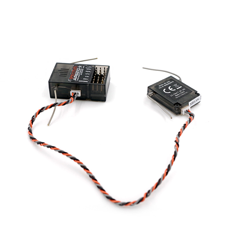 AR6210 DSMX 6-Channel Receiver and satalite for RC Planes Boats Cars Helicopters