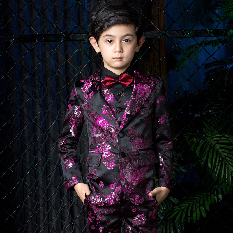 3a82db61edd26 Purple Suit for Boy Suits for Weddings Terno Infantil Costume Enfant Garcon  Mariage Disfraz Infantil Boys Suits Kids Formal Suit - aliexpress.com -  imall. ...