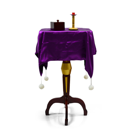 Luxury Mult-Function Floating Table (Anti Gravity Box + Metals Candlestick),Stage Magic,Illusions,Accessories,Mentalism,Fun,Toys