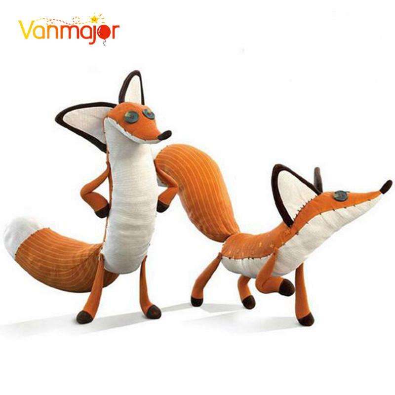 1pcs ფილმი Le Petit Prince Little Prince და Fox Stuffed Animal Plush Toys Doll Stuffed Education Toys საბავშვო საჩუქარი