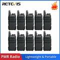 10 шт. Retevis RT622/RT22 портативная рация PMR PMR446 FRS VOX USB двухсторонняя радиостанция отель/Ресторан рации