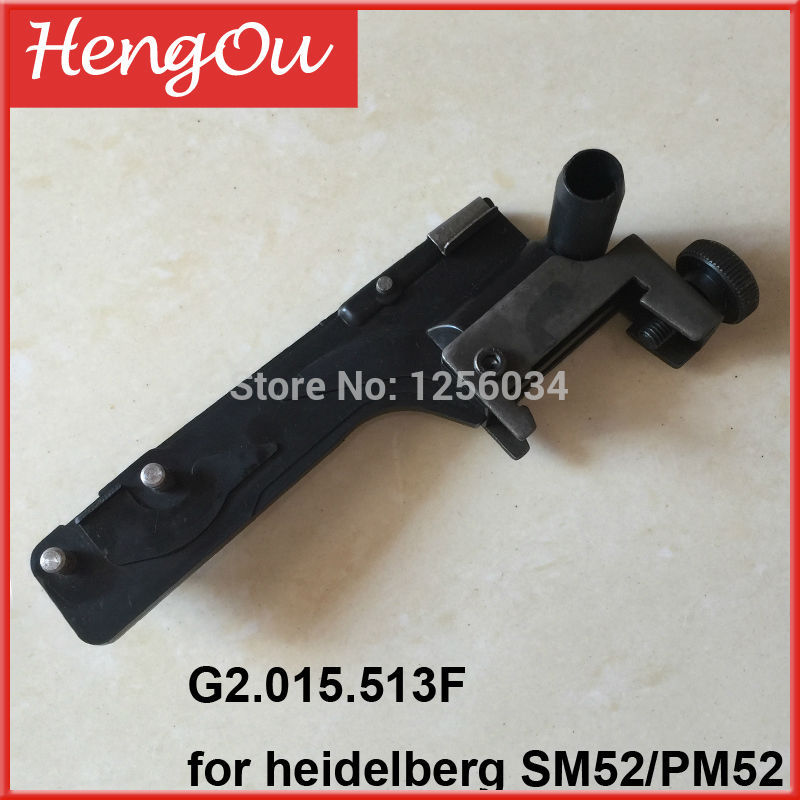 G2.015.513 G2.015.513F Heidelberg PM52 SM52 machine suction slow down element cpl SM52 heidelberg PM52 20pcs heidelberg sm52 pm52 o seal 00 580 4270 r 60x3mm paper suction spare parts