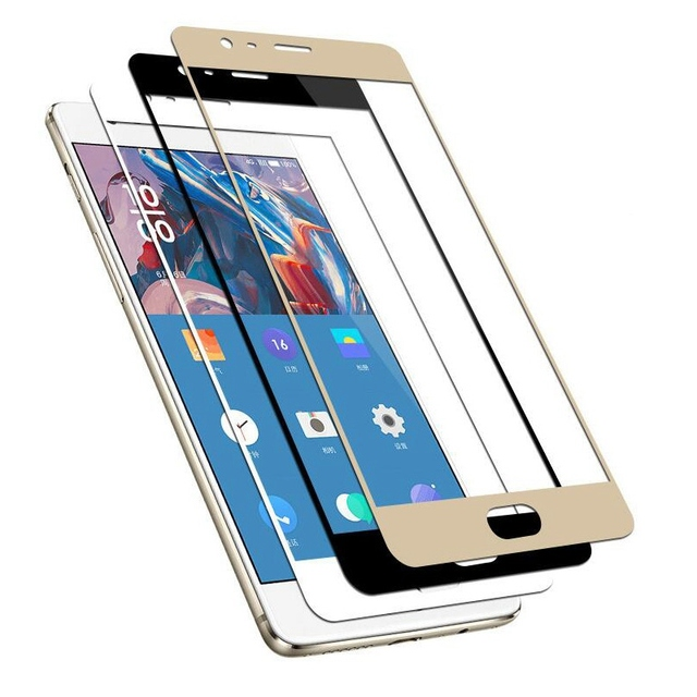 GerTong Full Cover Tempered Glass For Oneplus 6 5T Screen Protector For One Plus 3 1+ For Oneplus 6 5T 3 3T Front Glass Film 3