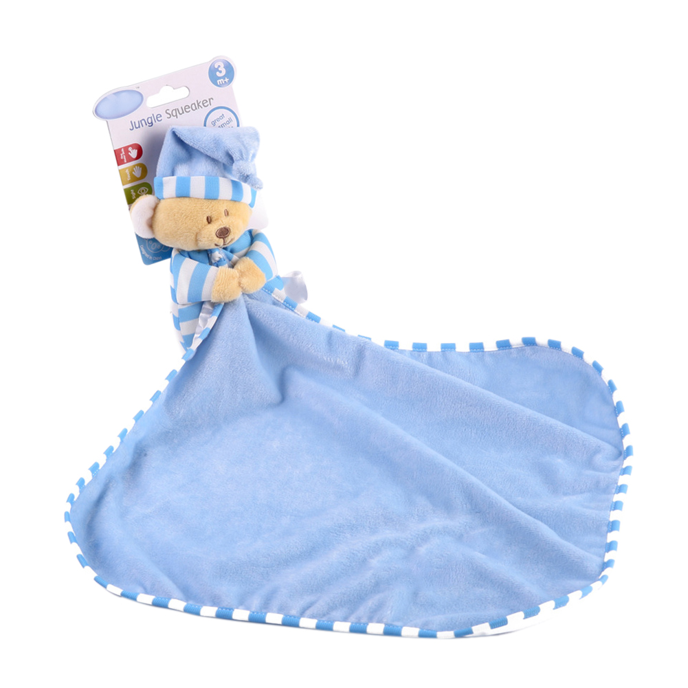 Multifunctional Saliva Towel Baby Comforter Toy  Reassure Dolls Newborn Baby Plush Soft Appease Towel Educational Gifts