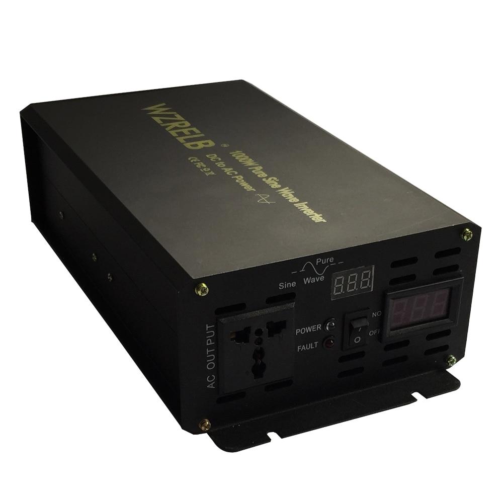 1000W Pure Sine Wave Inverter 24V 220V Power Inverter Voltage Converter 12V/36V/48V DC to 120V/220V/230V/240V AC Remote Control 1000w pure sine wave inverter 24v 220v power inverter voltage converter 12v 36v 48v dc to 120v 220v 230v 240v ac remote control
