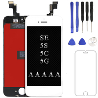 For Mobile phone AAA for iPhone 5 5s 5c se LCD Display screen Digitizer Assembly Replacement +Camera holder