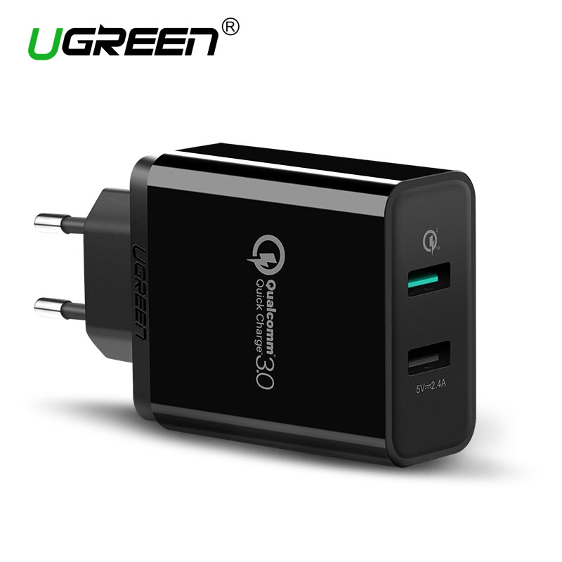 Ugreen USB Charger Universal Quick Charge 3.0 30W Fast Mobile Phone Charger(Quick Charge 2.0 Compatible) for Samsung Huawei LG  samsung quick charger | Official Samsung Fast Charge Wireless Charging Stand Review – Hands On Ugreen USB font b Charger b font Universal font b Quick b font Charge 3 0
