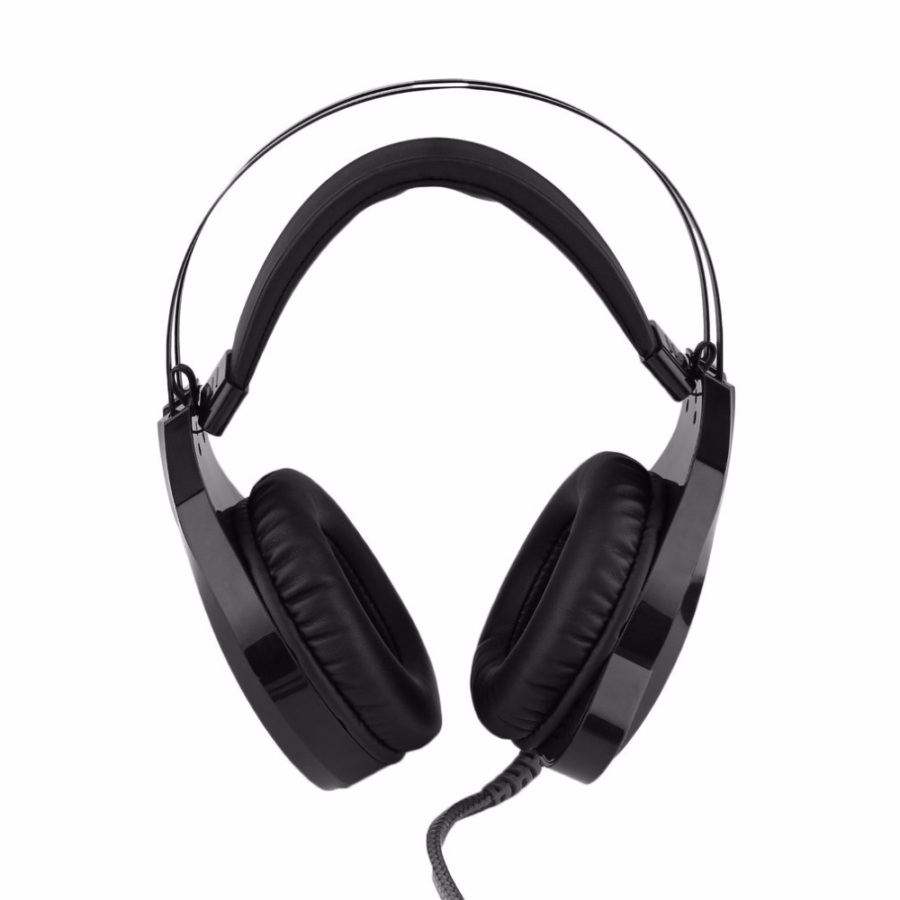 Professional N1 Gaming Noise Cancelling Headphones High Sensitive Home Office Wired Metal Gamer Headphones Black gift n home