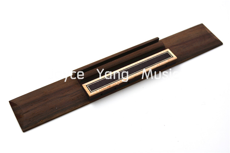 Niko Rosewood Classica Guitar Bridge Slotted For 6 String Classical Guitar Luthiers