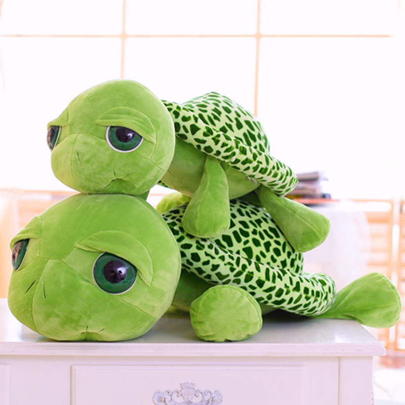 cartoon soft cotton turtle pillow stuffed & plush toys dolls for lover children kids friends girlfriend's birthday gifts