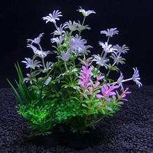 Simulation Artificial Plants Aquarium Decor Water Weeds Ornament Plant Fish Tank Aquarium Grass aquarium plant decoration plants цена