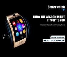 Q18s Android Smart Uhr Telefon Mit Sim-karte Tragbare Geräte Gebogene Bildschirm Touch Smartwatch