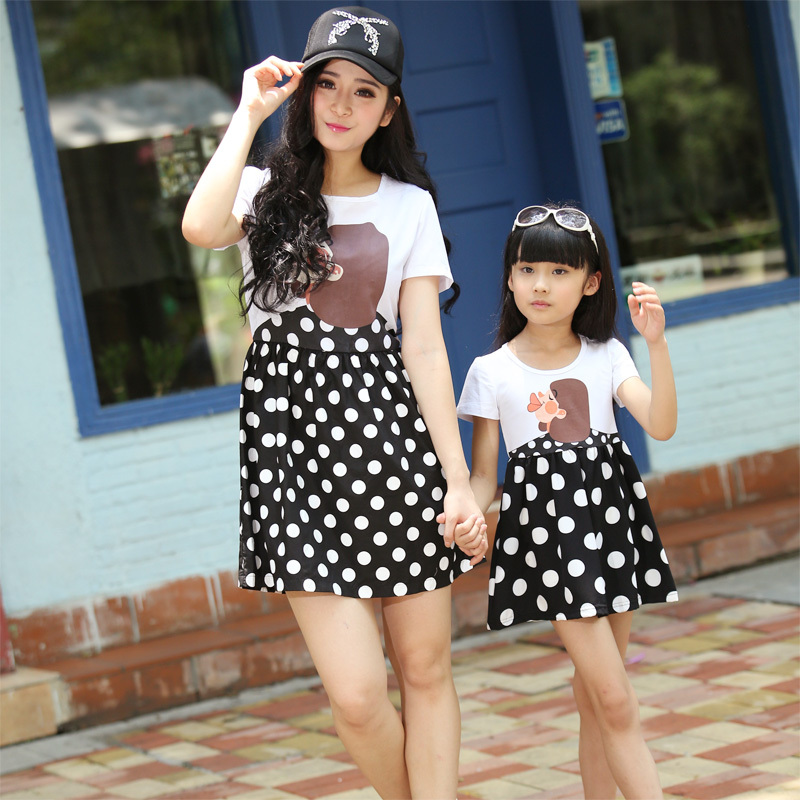 Mother Daughter Matching Clothes Baby Girl Outfits Summer Girl Baby