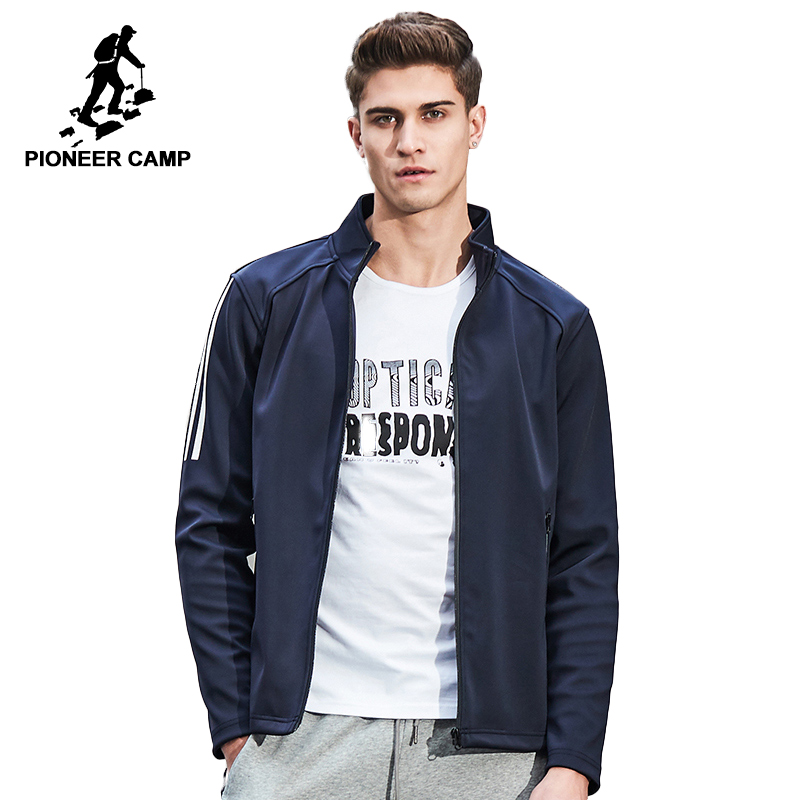 Pioneer Camp New arrival Spring jacket coat men brand clothing casual male jacket top quality zipper outerwear coat 677185