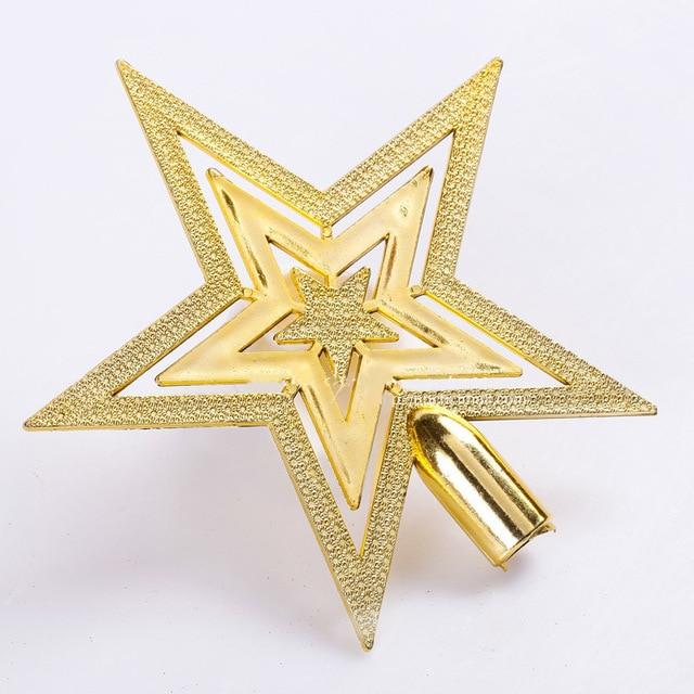 Cheap Merry Christmas Tree Star Decoration Supplies Christmas Toys - christmas star decorations