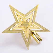 Cheap Merry Christmas Tree Star Decoration Supplies Christmas Toys Holi