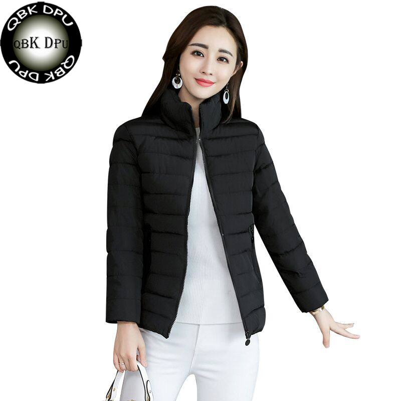 Down Cotton Ultra Light Women's Winter Jacket Big Size New Winter Ladies Warm Coat Outwear Black Casual   Parkas   For Female M-3XL