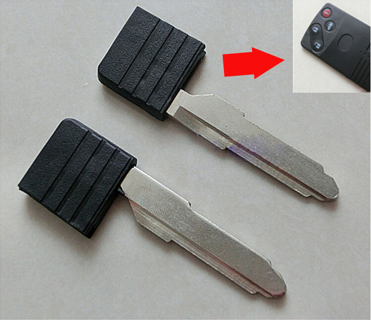 Automobiles & Motorcycles Car Key Symbol Of The Brand Smart Insert Key Blade For Mazda M6 Smart Card Key With Id4d63 Chip 5pcs/lot Cheapest Price From Our Site