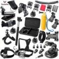GoPro accessories Set Family Kit Go Pro SJ4000 SJ5000 SJ6000 accessories package for GoPro HD Hero 1 2 3 3+ 4 xiaomi yi GS16