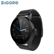 Спортивные Смарт-часы Diggro K88H Plus с обратным отсчетом, Bluetooth, функцией вызова, монитором сердечного ритма, регулируемым ремешком, водонепроницаемый смарт-браслет