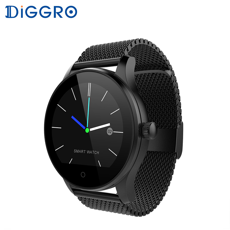 Diggro K88H Plus Smart Watch HD Display Heart Rate Monitor Pedometer Fitness Tra