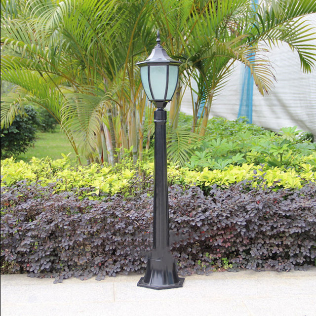 Charmant Outdoor Lawn Bollards Grass Villa Garden Lights Street Waterproof Lamp  Landscape Pole Lighting Fixtures Lawn Light
